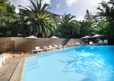 Piscine hotel Cala di Sole à Porto