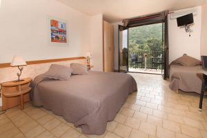 Chambre de l'hôtel Cala di Sole Porto
