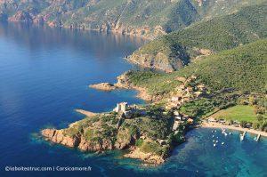 Le fort de Girolata Photo Corsicamore