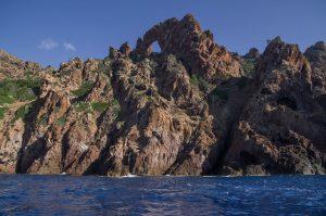 Scandola falaise grotte porto corse
